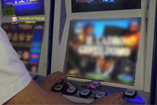Verbale sanzioni amministrative slot machine