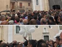 Dolore e commozione a San Pietro al Tanagro per l'ultimo saluto a Giuseppe Amato