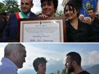 Billie Joe Armstrong dei Green Day scopre le sue origini e riceve la cittadinanza onoraria di Viggiano