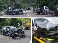 Scontro tra due auto sulla Cilentana nei pressi di Perito. Due persone ferite