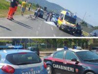 Tragedia sulla Strada Statale 18 a Capaccio Paestum. Ciclista perde la vita investito da un'auto