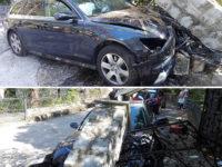 Tragico incidente ad Ispani. Donna del posto si schianta con l'auto contro un pilastro e perde la vita