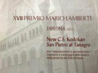 """La New C.S. Kodokan di San Pietro al Tanagro riceve il XVII Premio """"Mario Lamberti"""""""