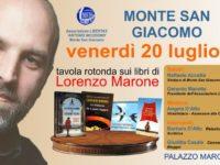 Domani a Monte San Giacomo una tavola rotonda sui libri di Lorenzo Marone