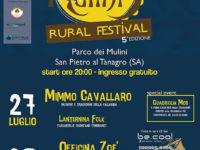 """San Pietro al Tanagro: al via questa sera """"Le Notti dei Mulini – Rural Festival"""""""