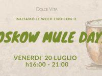 Al Dolce Vita Relais di Sala Consilina il weekend parte alla grande con il Moskow Mule Day