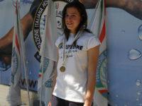 Federica Zito, 20enne di Felitto, conquista la medaglia d'oro a Belgrado ai Mondiali di nuoto pinnato
