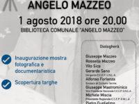 """Contursi Terme: domani inaugurazione della mostra fotografica """"Ricordando Angelo Mazzeo"""""""