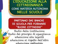 Educazione alla cittadinanza nelle scuole. Il Comune di Padula promuove la proposta ANCI