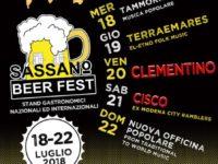 Dal 18 al 22 luglio – SASSANO BEER FEST, stand gastronomici ed internazionali – presso Tenuta Nicodemo