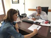 Il sindaco di Capaccio Franco Palumbo nomina assessore al Bilancio Donatella Raeli