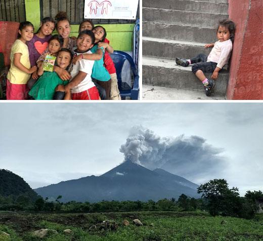 """Da stilista a Londra a volontaria in Guatemala"". La storia di Federica Dipierri, 22enne di Montesano"