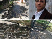 """Palomonte: olio bruciato davanti casa dei genitori del giornalista Caporale.""""La barbarie degli odiatori"""""""