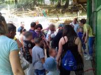 """I giovani ospiti della """"Vacanza del Sorriso"""" visitano l'Agriturismo Erbanito di San Rufo"""