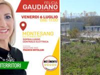Stazione elettrica Montesano. Domani sopralluogo dei senatori M5S Felicia Gaudiano e Franco Ortolani