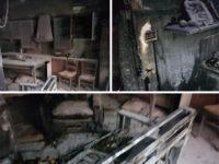 Incendio in un'abitazione a Marina di Camerota. Rimasta ferita un'intera famiglia