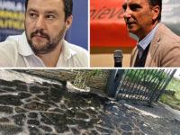 Olio bruciato davanti casa dei genitori del giornalista Caporale. Solidarietà dal Ministro Salvini