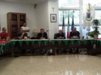 A Sant'Arsenio la cerimonia di saluto del Comandante della Polizia Municipale Giovanni Landolfi