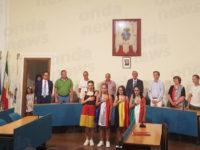 Polla accoglie le delegazioni straniere ospiti in occasione del gemellaggio