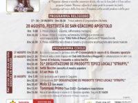 """19 e 20 agosto CAGGIANO – Festeggiamenti in onore di San Giacomo – Degustazione degli """"Struffl"""""""