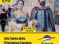 """""""Alla Tavola della Principessa Costanza"""".Con le Autolinee Curcio speciale offerta viaggio in bus e cena"""