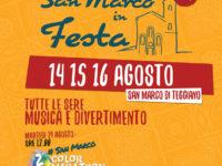 14,15,16 agosto – a San Marco di Teggiano – SAN MARCO IN FESTA – cibo, musica e divertimento