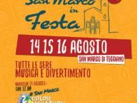 """Tutto pronto a Teggiano per la sesta edizione di """"San Marco in Festa"""". Appuntamento dal 14 al 16 agosto"""
