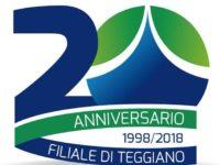 Banca Monte Pruno.Il 21 settembre 2 eventi per celebrare i 20 anni di apertura della filiale di Teggiano