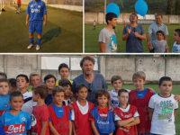 """Un calcio all'autismo. Il calciatore Beppe Signori a Sapri per il triangolare """"Goal for Kids"""""""