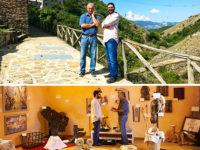Il sottosegretario di Stato Angelo Tofalo visita Sasso di Calstalda, paese d'origine della sua famiglia