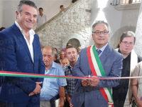 Caggiano: alla presenza di Franco Alfieri riaprono al pubblico le porte di Palazzo Morone