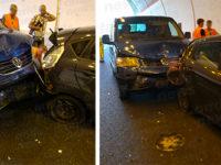 Incidente in galleria lungo l'A2 tra Polla e Petina. Quattro feriti