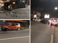 Scontro tra due auto in via Nazionale a Padula Scalo. Tre giovani feriti