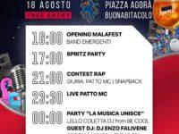 """Buonabitacolo: domani la II edizione del """"Malafest"""" dedicato alle band emergenti"""