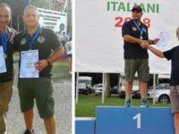 Roberto Siniscalchi e Donato Carfagno di Eboli campioni nazionali di Tiro a Segno a Bologna