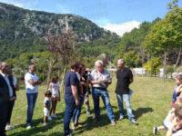 Festa dell'Albero a Caselle in Pittari. Consegnati i tigli ai bambini nati nel 2016