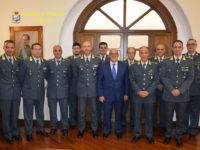 Il Prefetto di Salerno Francesco Russo fa visita al Comando Provinciale della Guardia di Finanza