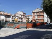 Sant'Arsenio: conclusi i lavori di demolizione dell'ala sud dell'ex Ragioneria