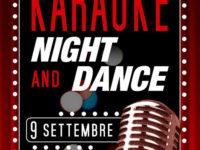 """Sassano: il 9 settembre l'evento """"Karaoke Night and Dance"""" da """"Peccati di Gola"""""""