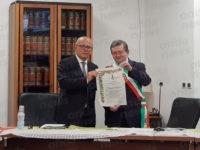 Il Comune di Sant'Arsenio conferisce la cittadinanza onoraria a Claudio Gubitosi