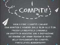 """Sant'Arsenio: al via l'iniziativa """"Facciamo i compiti!"""" a cura della Consulta dei Servizi Sociali"""