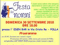 """Polla: il 30 settembre si celebra """"La Festa dei Nonni"""" con la Pro Loco Tanagro Pollese"""