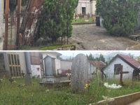 Calcinacci, erbacce e una bara abbandonata, il Cimitero di Buonabitacolo tra incuria e degrado