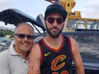 Higuain arriva nel Golfo di Policastro. L'attaccante del Milan in vacanza con la famiglia a Scario