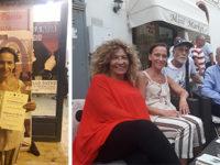 """Maria Teresa Chechile, poetessa di Atena Lucana, al Festival """"Il Federiciano"""" con il figlio di Quasimodo"""