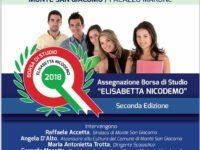 """Monte San Giacomo: domani l'assegnazione della borsa di studio """"Elisabetta Nicodemo"""""""