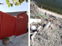 Blitz della Polizia Municipale ad Eboli, sequestrata una struttura abusiva adibita a dormitorio