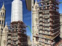 Al via i lavori di restauro della monumentale chiesa di Sant'Anna a Montesano sulla Marcellana