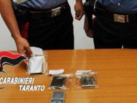 Ignora l'alt dei Carabinieri e tenta di disfarsi della droga. Arrestato 25enne di Potenza in Puglia