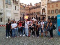 """Gli studenti del """"Pomponio Leto"""" di Teggiano al Festival della Filosofia di Carpi, Modena e Sassuolo"""